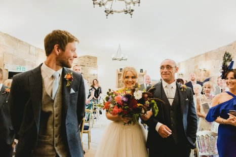 A Multicoloured Wedding at Danby Castle (c) Benni Carol Photography (16)