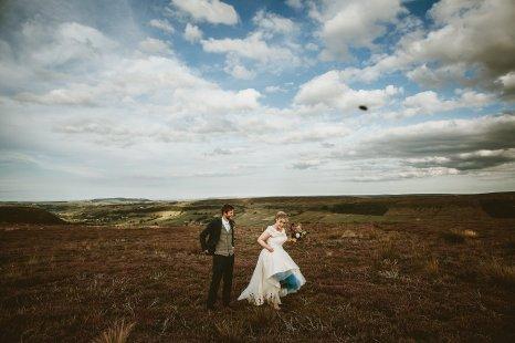A Multicoloured Wedding at Danby Castle (c) Benni Carol Photography (53)