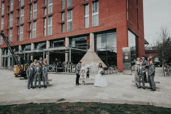 An Industrial Wedding at New Craven Hall (c) Lissa Alexandra Photography (109)