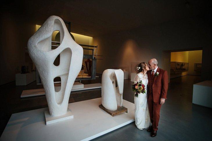 An autumn wedding at The Hepworth Wakefield (c) Matt Sim Photograohy (11)