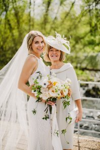 Rosa Clara for a Stylish Wedding at The West Mill (c) S6 Photography (109)