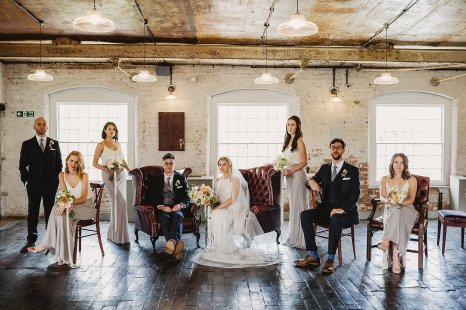 Rosa Clara for a Stylish Wedding at The West Mill (c) S6 Photography (122)