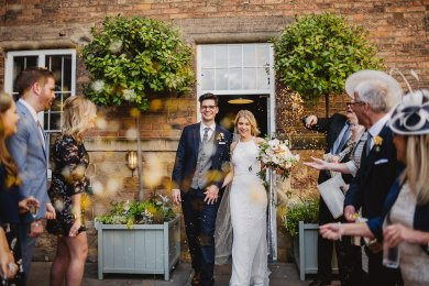 Rosa Clara for a Stylish Wedding at The West Mill (c) S6 Photography (133)