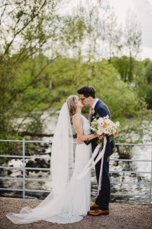 Rosa Clara for a Stylish Wedding at The West Mill (c) S6 Photography (142)