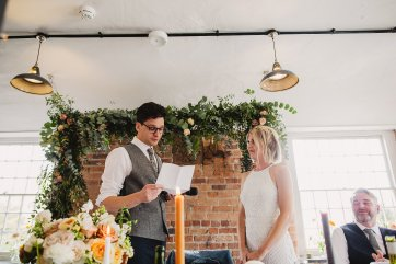 Rosa Clara for a Stylish Wedding at The West Mill (c) S6 Photography (159)