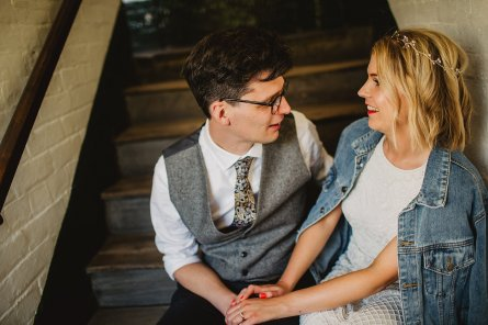 Rosa Clara for a Stylish Wedding at The West Mill (c) S6 Photography (175)