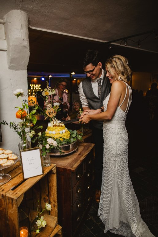Rosa Clara for a Stylish Wedding at The West Mill (c) S6 Photography (189)