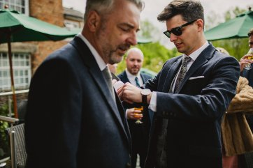 Rosa Clara for a Stylish Wedding at The West Mill (c) S6 Photography (22)