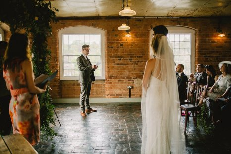 Rosa Clara for a Stylish Wedding at The West Mill (c) S6 Photography (75)