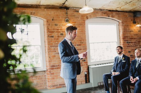 Rosa Clara for a Stylish Wedding at The West Mill (c) S6 Photography (91)