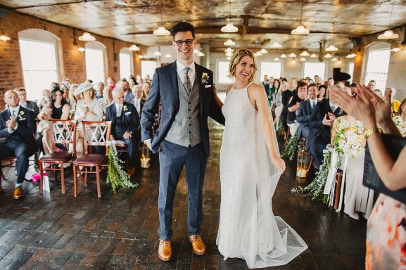 Rosa Clara for a Stylish Wedding at The West Mill (c) S6 Photography (95)