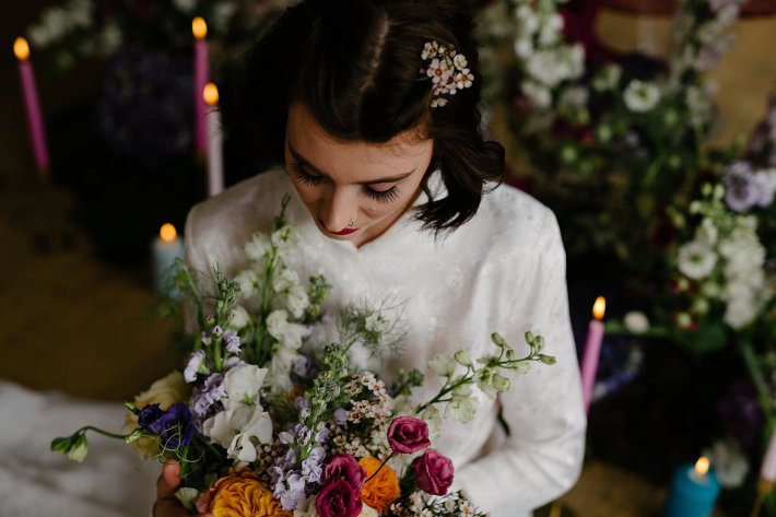An Urban Styled Bridal Shoot at The Biscuit Factory (c) Dan McCourt (17)