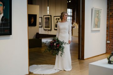 An Urban Styled Bridal Shoot at The Biscuit Factory (c) Dan McCourt (26)
