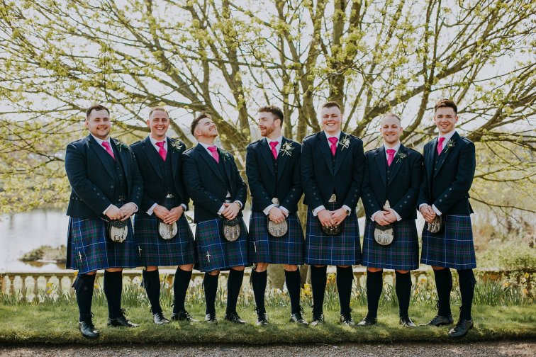 An Elegant Wedding at Ednam House (c) Rosie Davison Photography (41)