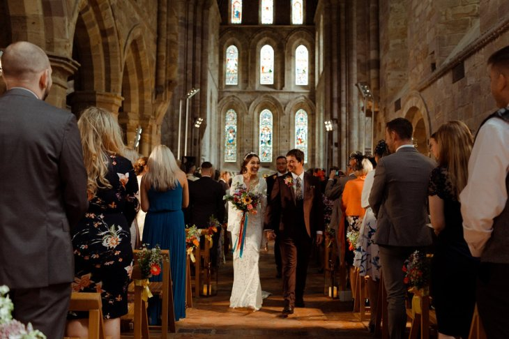 A Colourful Wedding at Brinkburn Northumberland (c) Beneath The Pines (35)