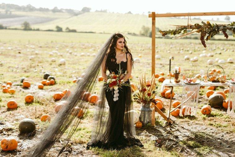 Halloween Bridal Shoot (c) Freya Raby (12)