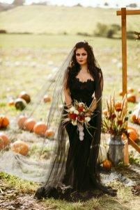 Halloween Bridal Shoot (c) Freya Raby (8)