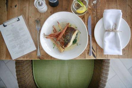 Herb Garden Brasserie- Pan fried hake