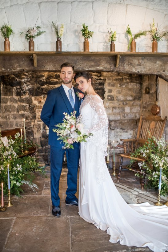 A Romantic Bridal Shoot at Ilkley Manor House (c) Jane Beadnell Photography (39)