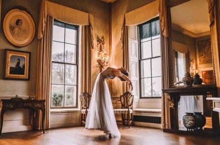 A ballet inspired bridal shoot at Leadenham Estate (c) Kyle Baxter Photography (37)