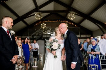 A Rustic Wedding at Yorkshire Wedding Barn (c) Hayley Baxter Photography (45)
