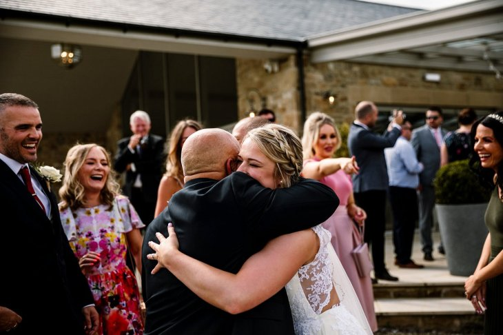A Rustic Wedding at Yorkshire Wedding Barn (c) Hayley Baxter Photography (51)