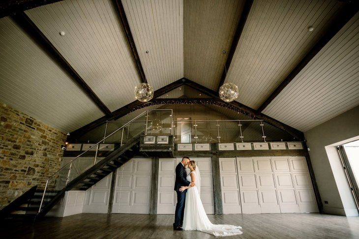 A Rustic Wedding at Yorkshire Wedding Barn (c) Hayley Baxter Photography (78)