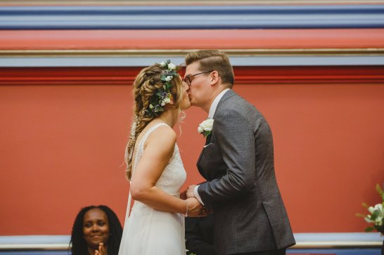 A Boho City Wedding at The Tetley (c) James & Lianne (18)