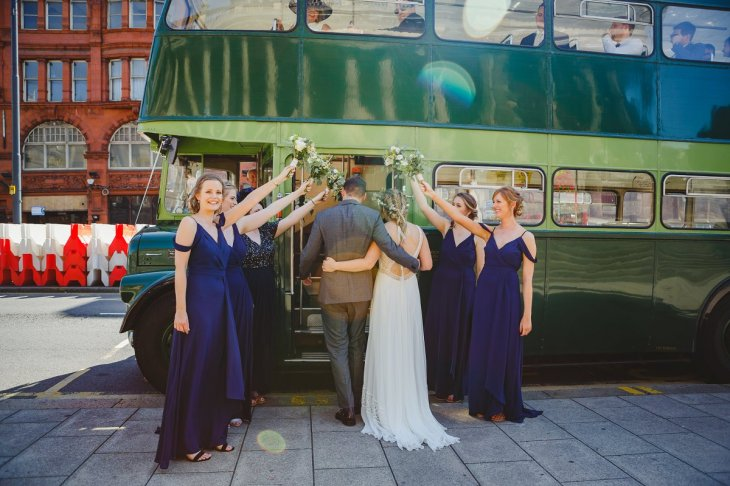 A Boho City Wedding at The Tetley (c) James & Lianne (25)