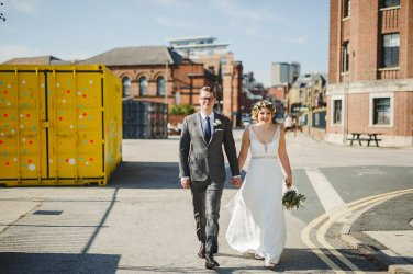A Boho City Wedding at The Tetley (c) James & Lianne (38)