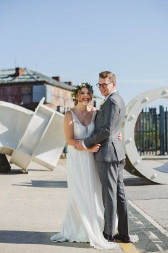 A Boho City Wedding at The Tetley (c) James & Lianne (40)