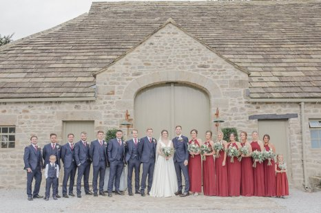 An Autumn Wedding at The Tithe Barn (c) Helen Russell Photography (43)