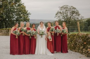 An Autumn Wedding at The Tithe Barn (c) Helen Russell Photography (49)