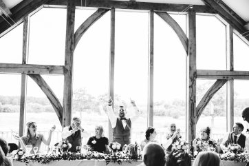 A Pronovias Wedding Dress for a Rustic Barn Wedding at Sandburn Hall (c) Hayley Baxter Photography (105)