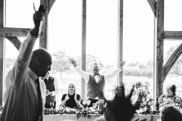 A Pronovias Wedding Dress for a Rustic Barn Wedding at Sandburn Hall (c) Hayley Baxter Photography (106)