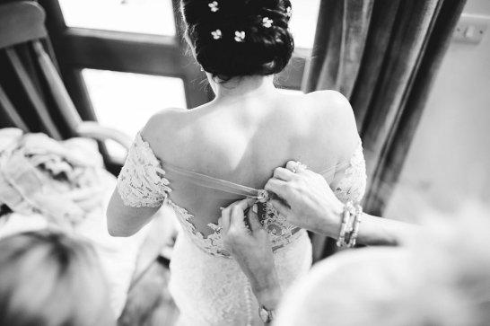 A Pronovias Wedding Dress for a Rustic Barn Wedding at Sandburn Hall (c) Hayley Baxter Photography (23)
