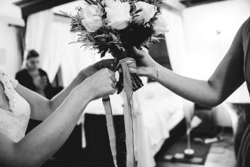 A Pronovias Wedding Dress for a Rustic Barn Wedding at Sandburn Hall (c) Hayley Baxter Photography (26)