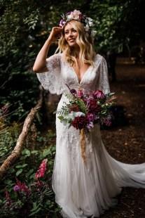 A Styled Woodland Wedding Shoot at Hazlewood Castle (c) Anna Beth Photography (22)