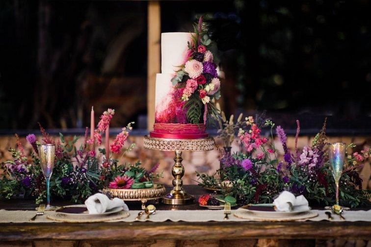 A Styled Woodland Wedding Shoot at Hazlewood Castle (c) Anna Beth Photography (30)