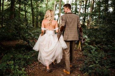A Styled Woodland Wedding Shoot at Hazlewood Castle (c) Anna Beth Photography (6)