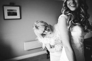 An Elegant Festive Wedding at The Coniston Hotel (c) Hayley Baxter Photography (20)