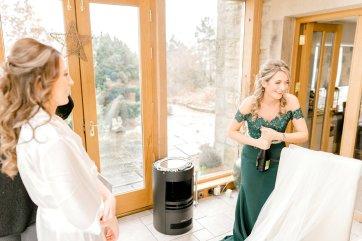 Pronovias Wedding Dress for a Winter Wedding at Mitton Hall (c) Kieran Bellis Photography for Brides Up North (13)