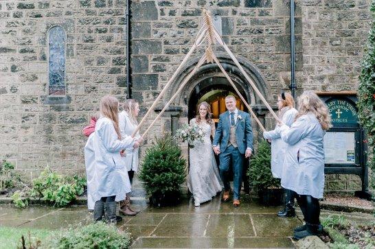 Pronovias Wedding Dress for a Winter Wedding at Mitton Hall (c) Kieran Bellis Photography for Brides Up North (29)