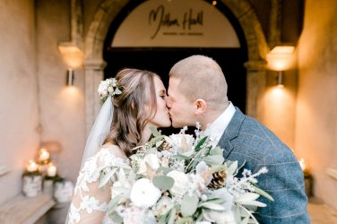 Pronovias Wedding Dress for a Winter Wedding at Mitton Hall (c) Kieran Bellis Photography for Brides Up North (45)