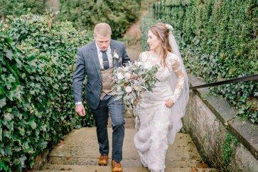 Pronovias Wedding Dress for a Winter Wedding at Mitton Hall (c) Kieran Bellis Photography for Brides Up North (53)