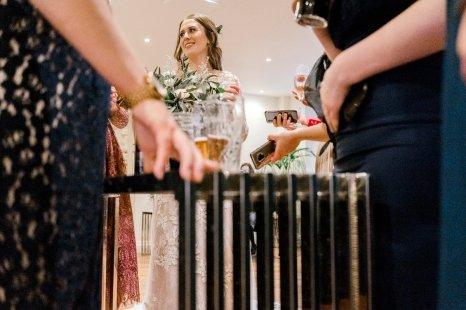 Pronovias Wedding Dress for a Winter Wedding at Mitton Hall (c) Kieran Bellis Photography for Brides Up North (58)
