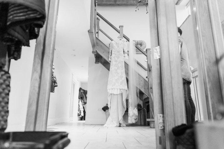 Pronovias Wedding Dress for a Winter Wedding at Mitton Hall (c) Kieran Bellis Photography for Brides Up North (9)