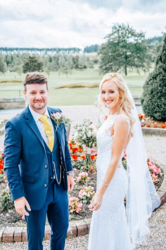 A Pastel Wedding at Slayley Hall (C) Mark Hedley Photography (31)