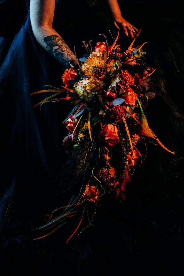 Halloween Gothic Wedding Creative Shoot (c) Veil & Gun Photography (16)