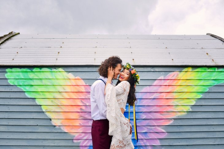 A Colourful Festival Wedding Shoot at The Wellbeing Farm (c) Jules Fortune Photography (23)